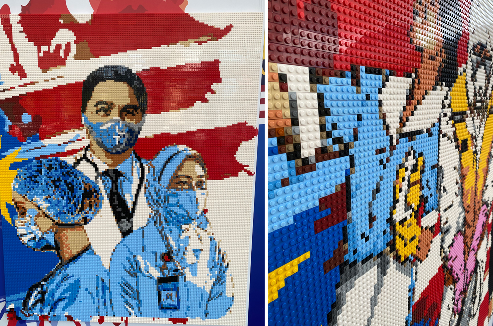 Legoland Malaysia Used 150,000 Pieces Of LEGO Bricks To Create These Stunning Frontliners Murals