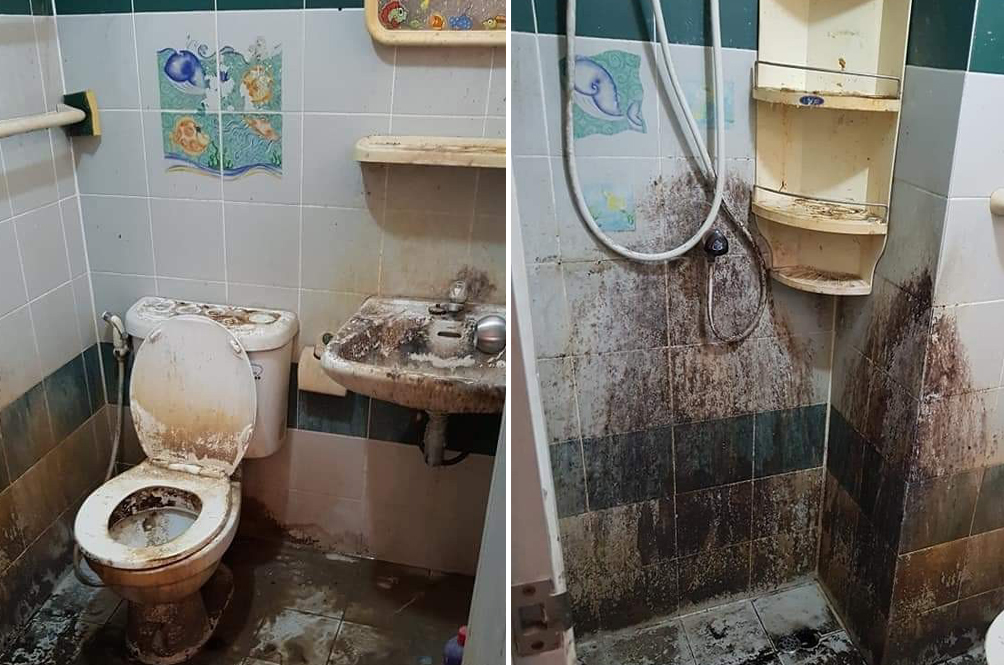Thai Landlady Shares Disgusting Photos Of Toilet Condition As Left By Tenant