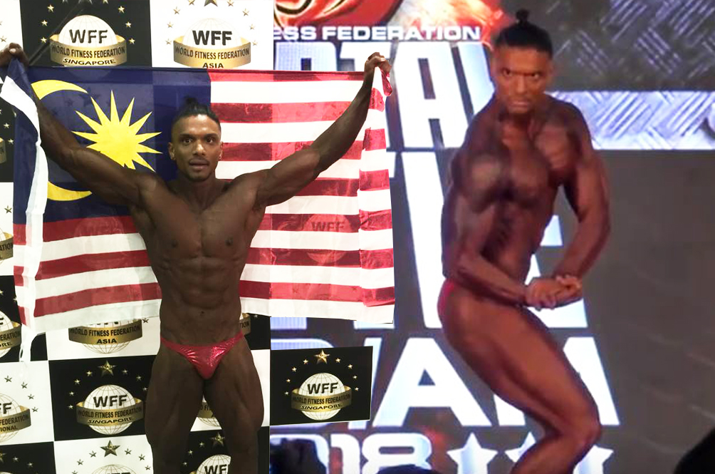 One Malaysian's Journey From Being Fat To Winning An International Bodybuilding Competition