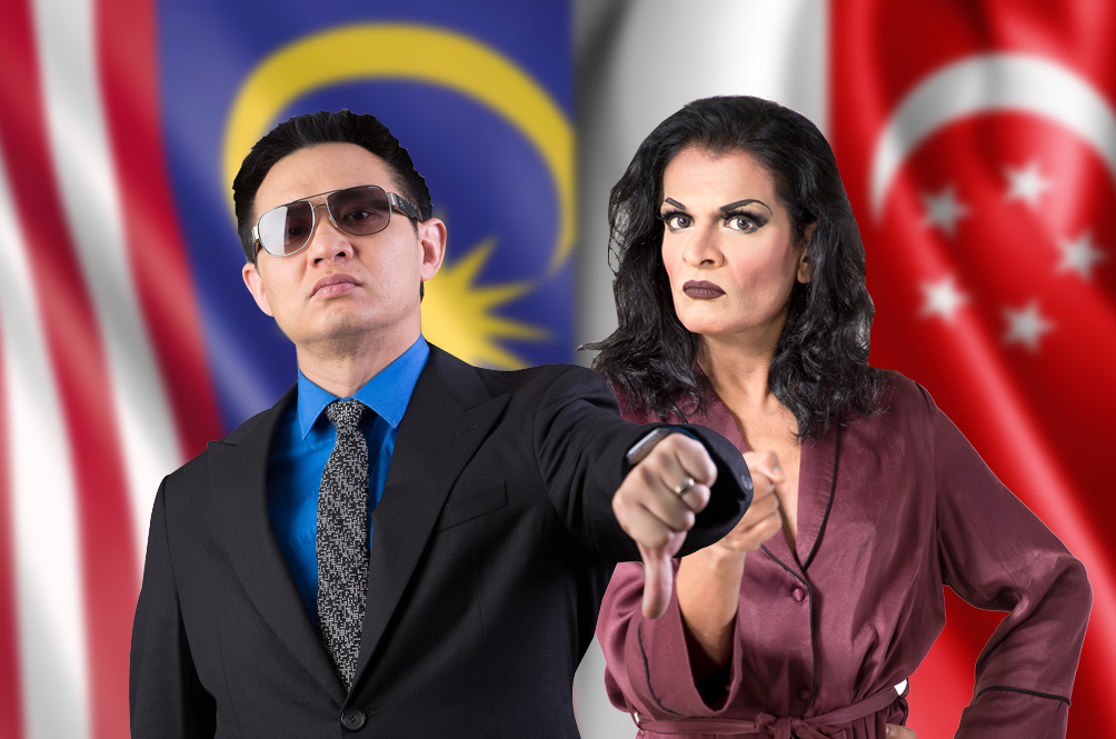 Malaysia's Douglas Lim Set To Take On Singapore's Kumar In Epic Comedy Show