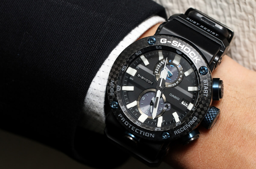 G-Shock Just Launched A Watch Made Entirely Out Of Carbon Fibre