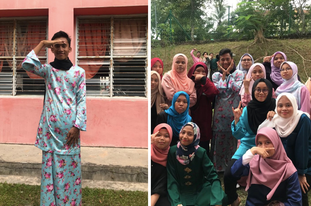 Boy Promises To Wear 'Baju Kurung' To School If He Gets 100 Retweets. Guess What Happened