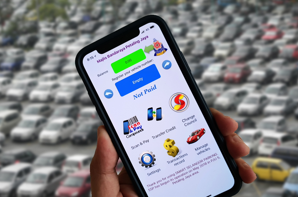 You Can Now Use The Selangor Parking App To Pay For Parking In KL