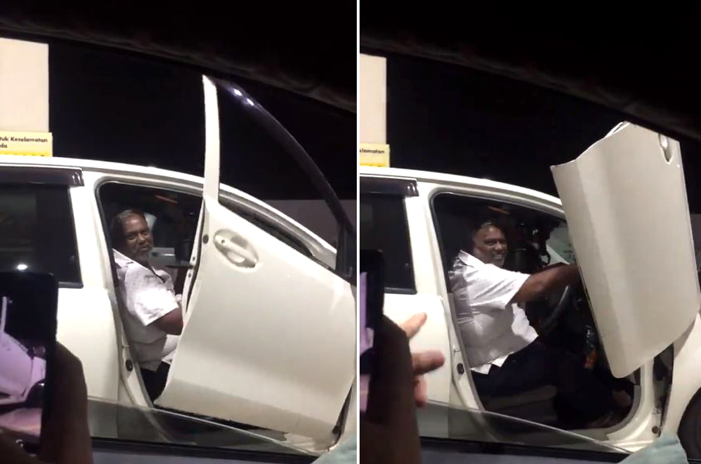 Uncle Fits His Perodua Myvi With Lamborghini-Style Doors, Internet Is Impressed