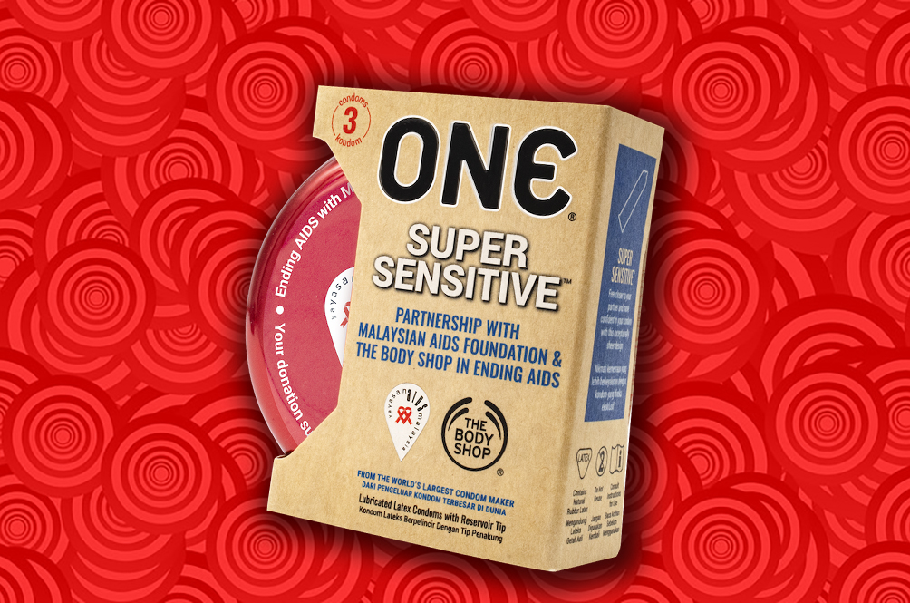 The Malaysian AIDS Foundation Releases 'Super Sensitive' Condoms To Help Fight HIV