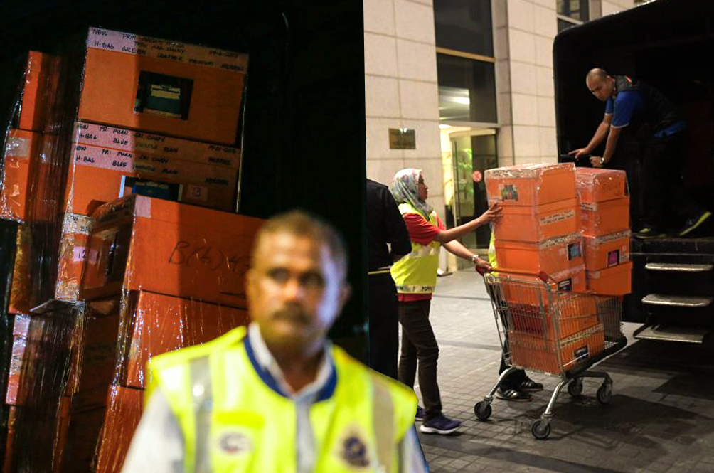 Govt Files Forfeiture Suit For RM711mil Worth Of Items Seized From Najib, Rosmah