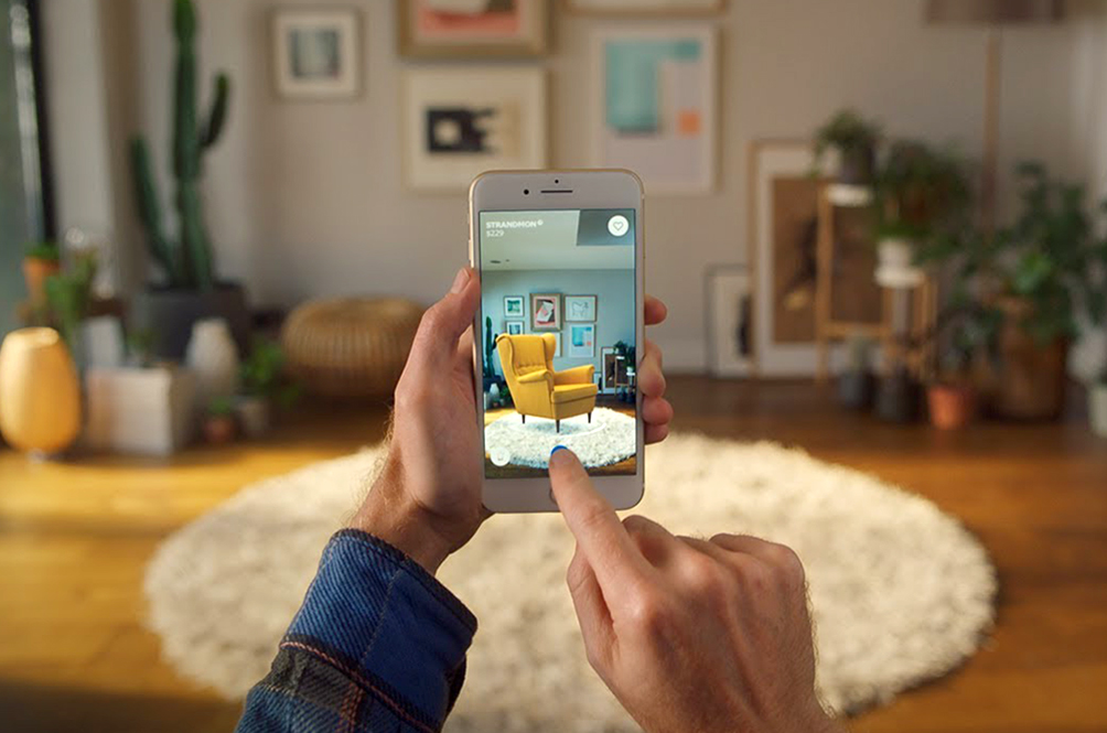IKEA's New App Allows You To Furnish Your House Digitally With Augmented Reality
