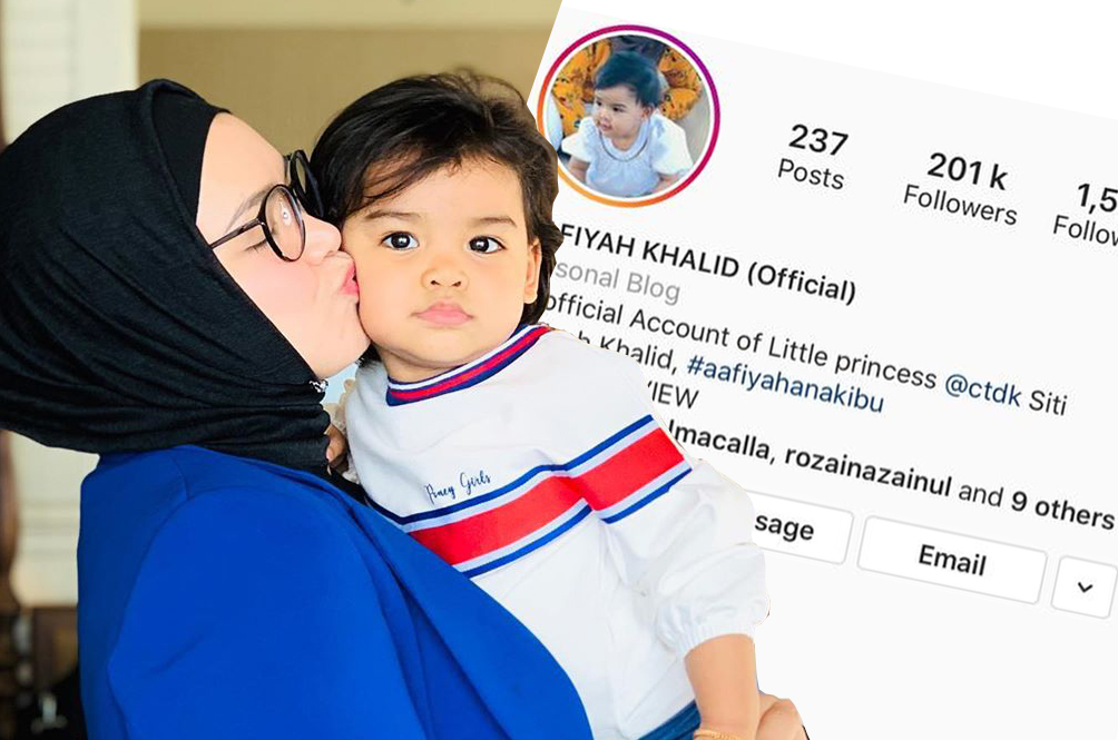 Siti Nurhaliza Is P-ssed At Online Businesses For Using Her Daughter's Name