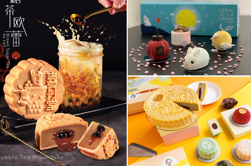 Boba, Petai And Six Other Totally Unique Mooncakes You Need To Try