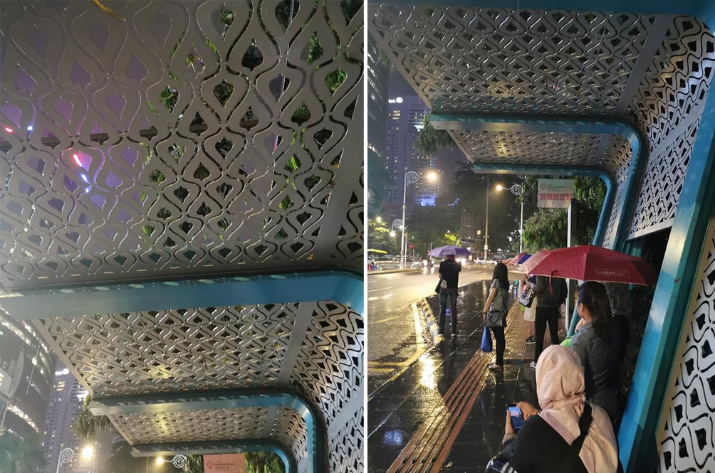 This Facebook User Just Found Probably The Most Useless Bus Stop In Malaysia