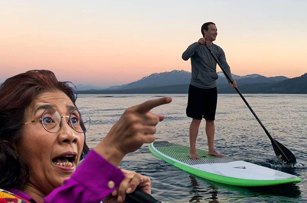 Indonesian Minister Challenges Mark Zuckerberg To Paddle Race, Wants FB Shares If She Wins