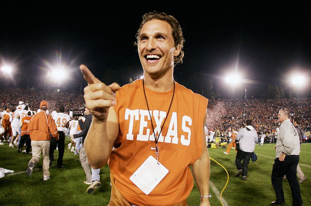 Actor Matthew Mcconaughey Is Now A Professor At The University Of Texas