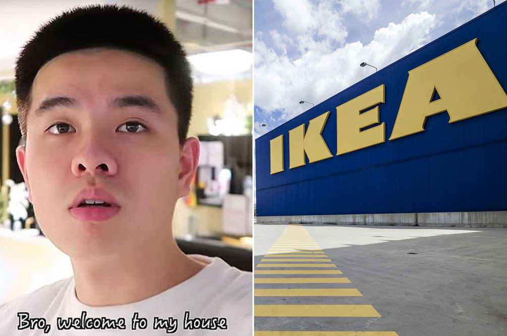 YouTuber Sneaks Into IKEA, Records Video, Spends The Night, Gets Called Up By The Police