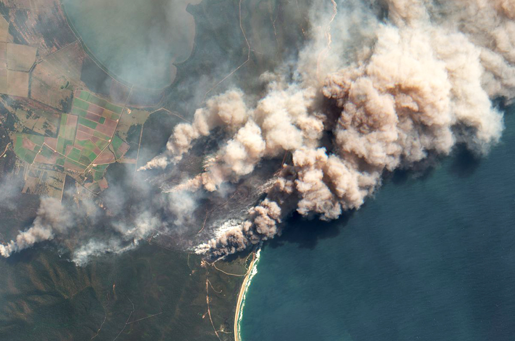 Report: Smoke From The Australian Bushfires Can Be Seen In Brazil