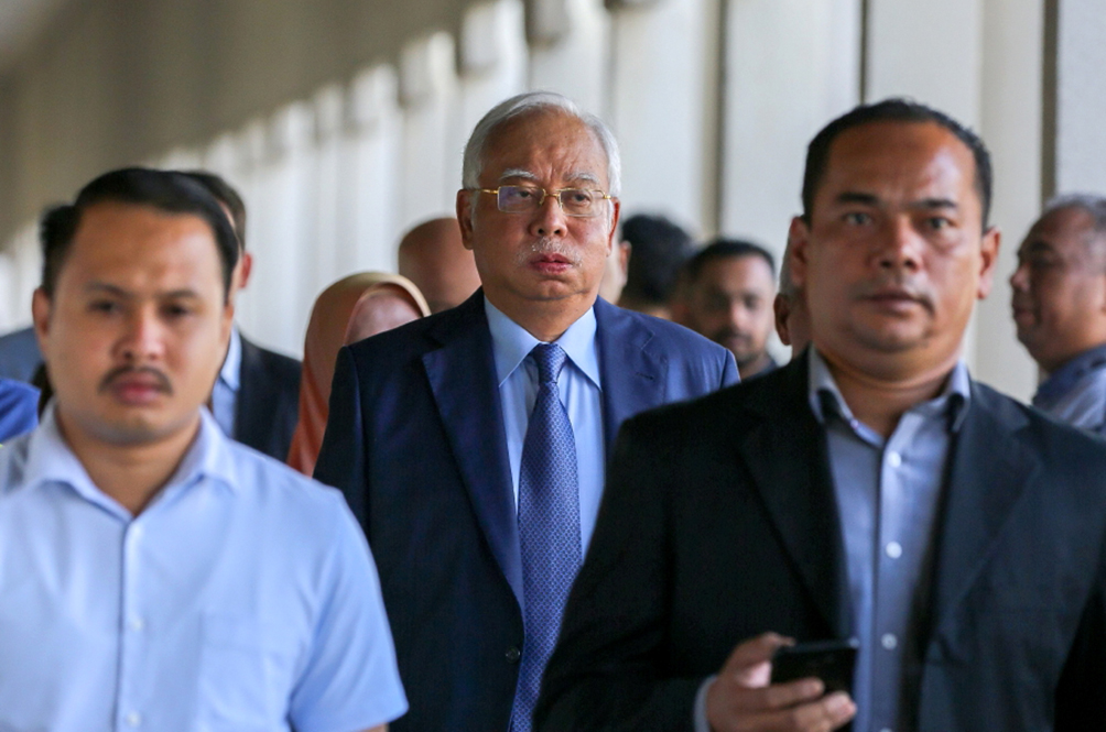 LHDN Serves Former PM Najib Razak With Bankruptcy Notice For Failing To Pay His Income Taxes