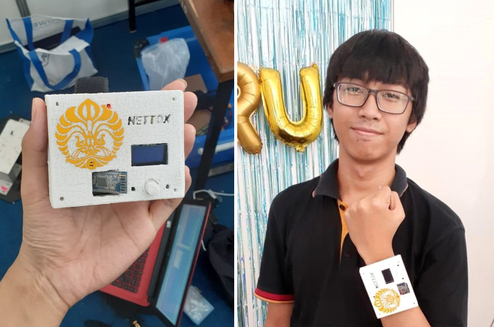 Indonesian Students Invent Device That Helps You Put Your Phones Down!