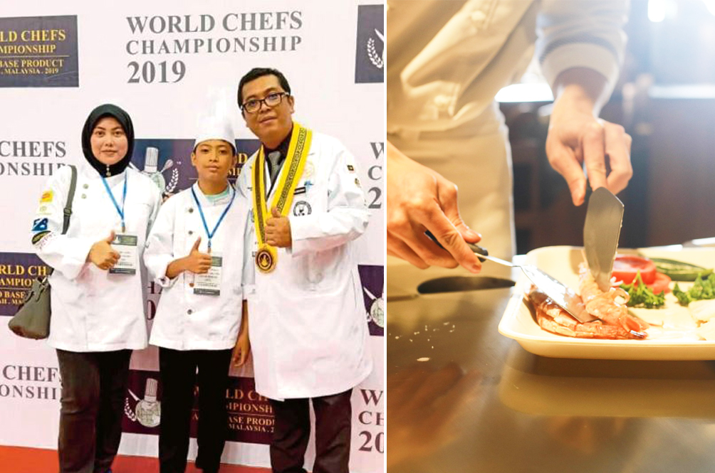 13-Year-Old Malaysian Boy Wins Two Medals At World Chefs Championship