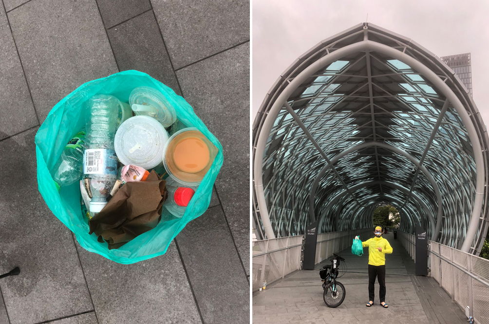 MaTiC Director Has Been Keeping The City Clean By 'Plogging' For The Past Two Years
