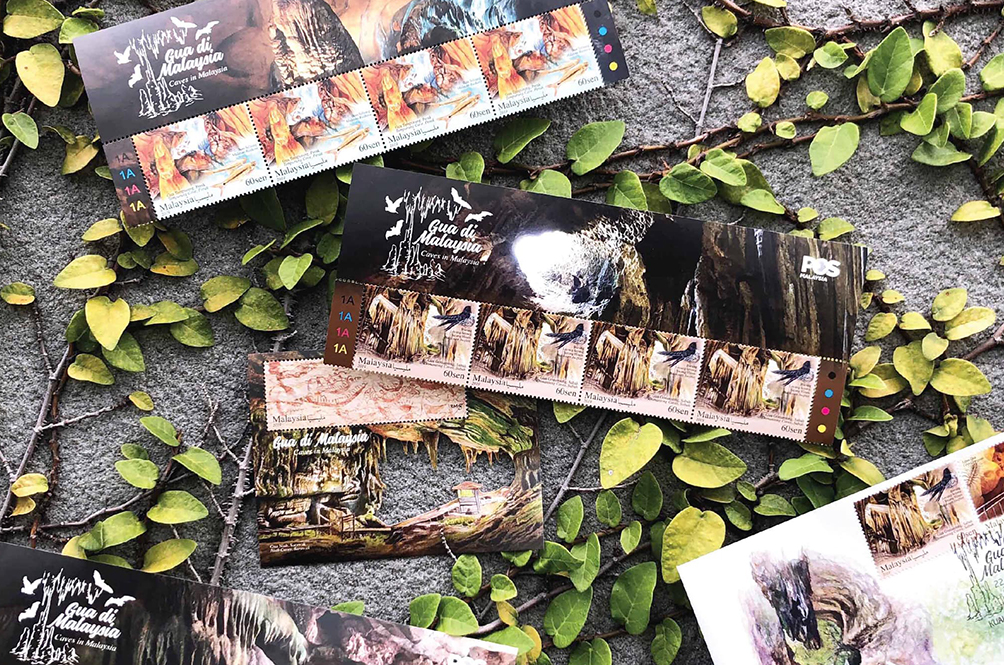 Pos Malaysia Highlights The Beautiful Caves In Malaysia With Stamp Series