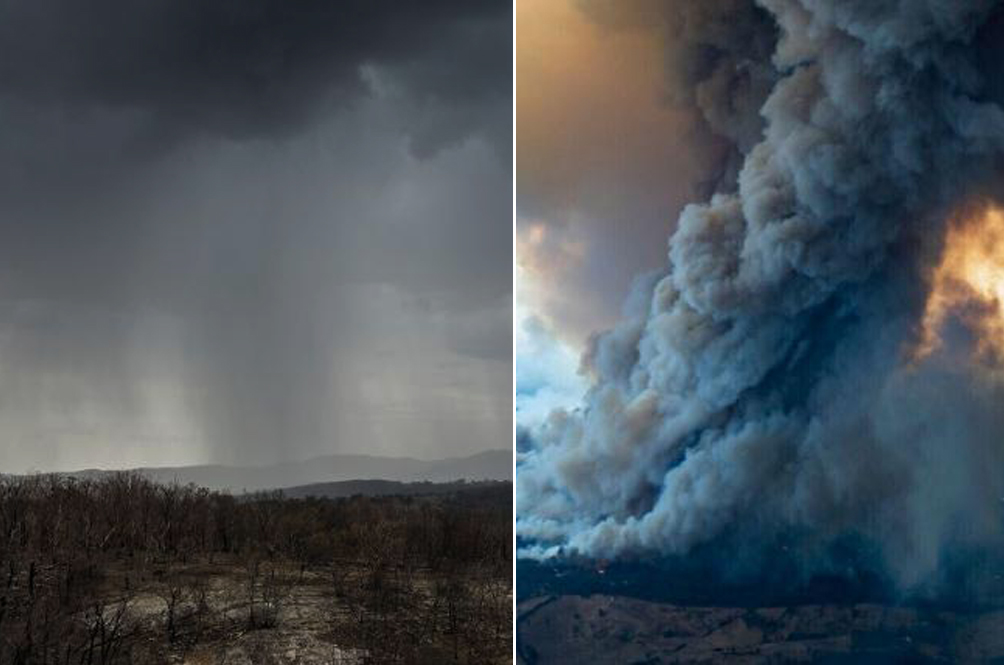 Rain Finally Falls In Fire-Ravaged Australia But It's Not All Good