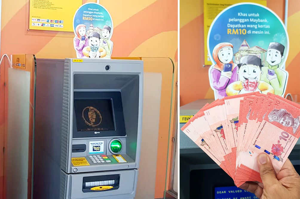Here's How You Can Change Small Notes For 'Duit Raya' Without Queuing Up At Bank Counters