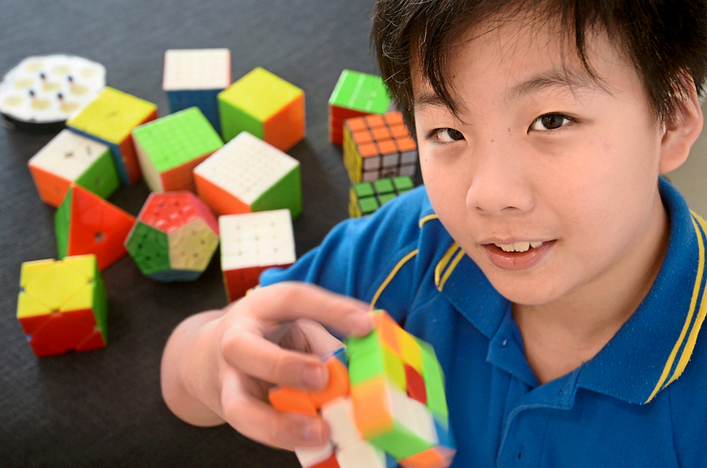 11-Year-Old M'sian Wins World Championship For Speedcubing...With His Feet!