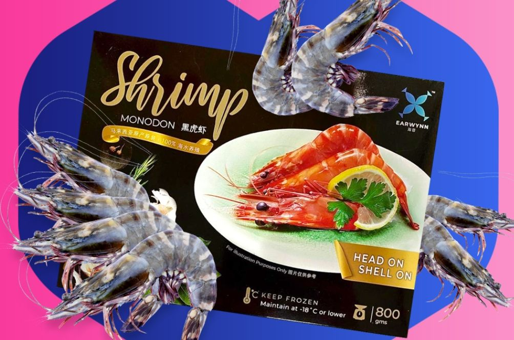 Lazada Is Selling Tiger Prawns Now And They're Going On Sale