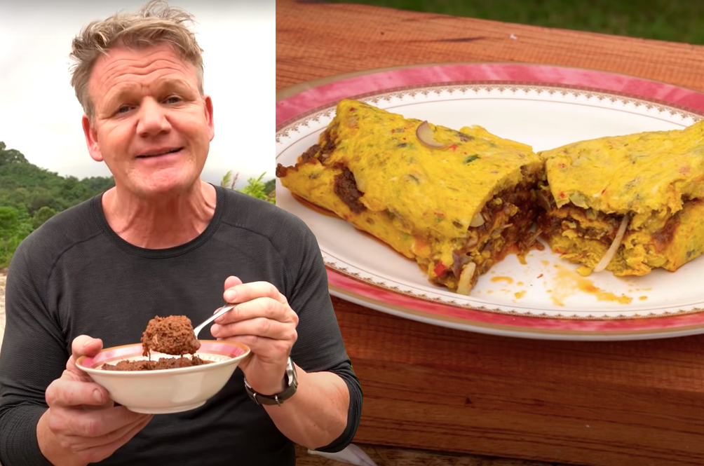 [VIDEO] Watch Gordon Ramsay Turn Rendang Into An Omelette