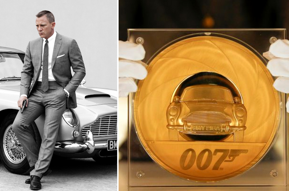 Mr Bond, James Bond Gets Special 7kg Gold Coin Worth RM37,000