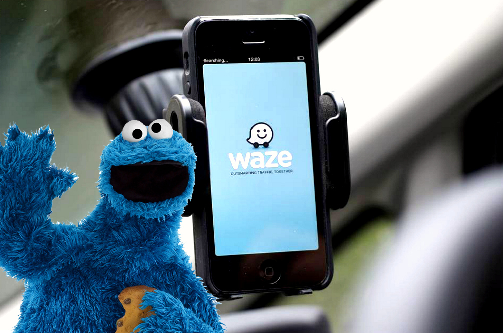 A New Voice Is Going To Give You Directions On Waze: Cookie Monster's!