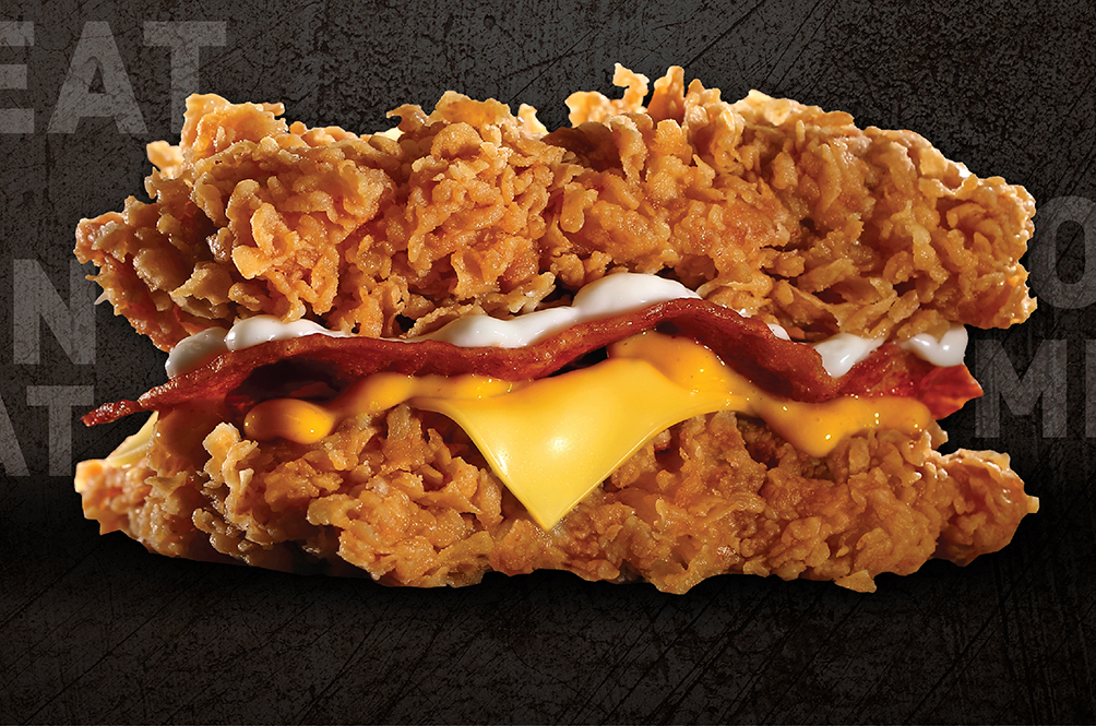 Rejoice, Meat Lovers! KFC Is Bringing Back The Double Down Next Week!