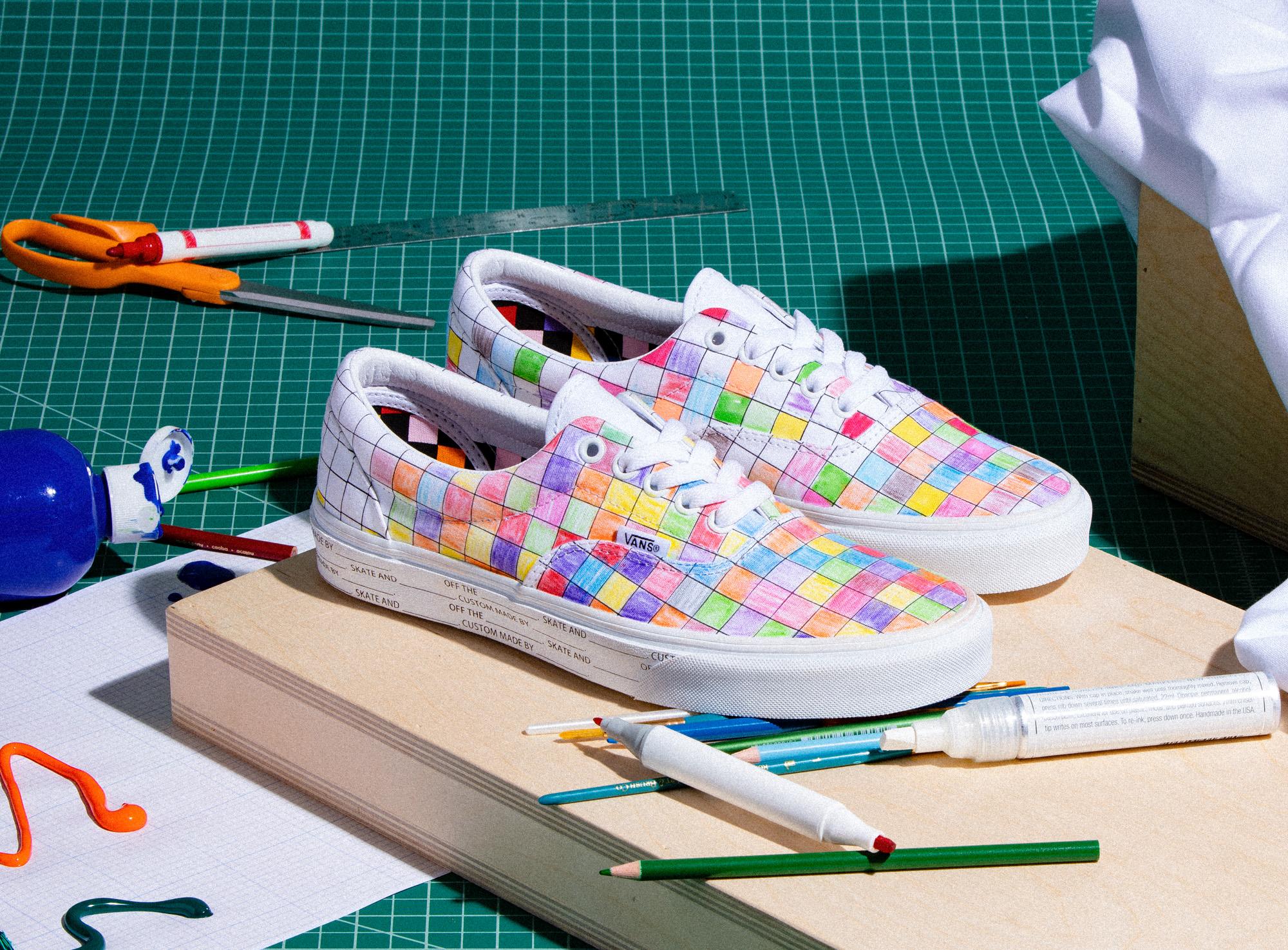 Vans Latest Collection Lets You Colour
