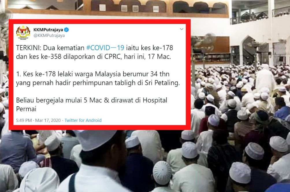 Two Covid-19 Related Deaths Recorded In Malaysia