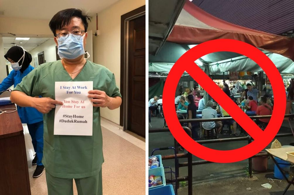 Health DG Warns Of Third Wave As Malaysians Casually Lepak At Eateries