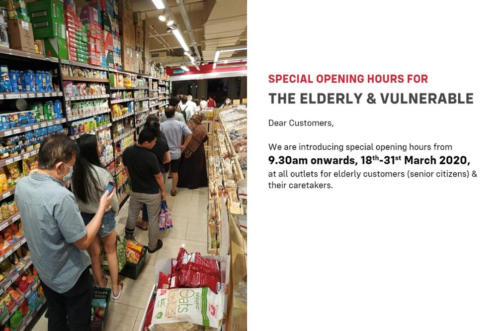 Jaya Grocer, Mydin To Introduce Special Shopping Times For The Elderly And Vulnerable