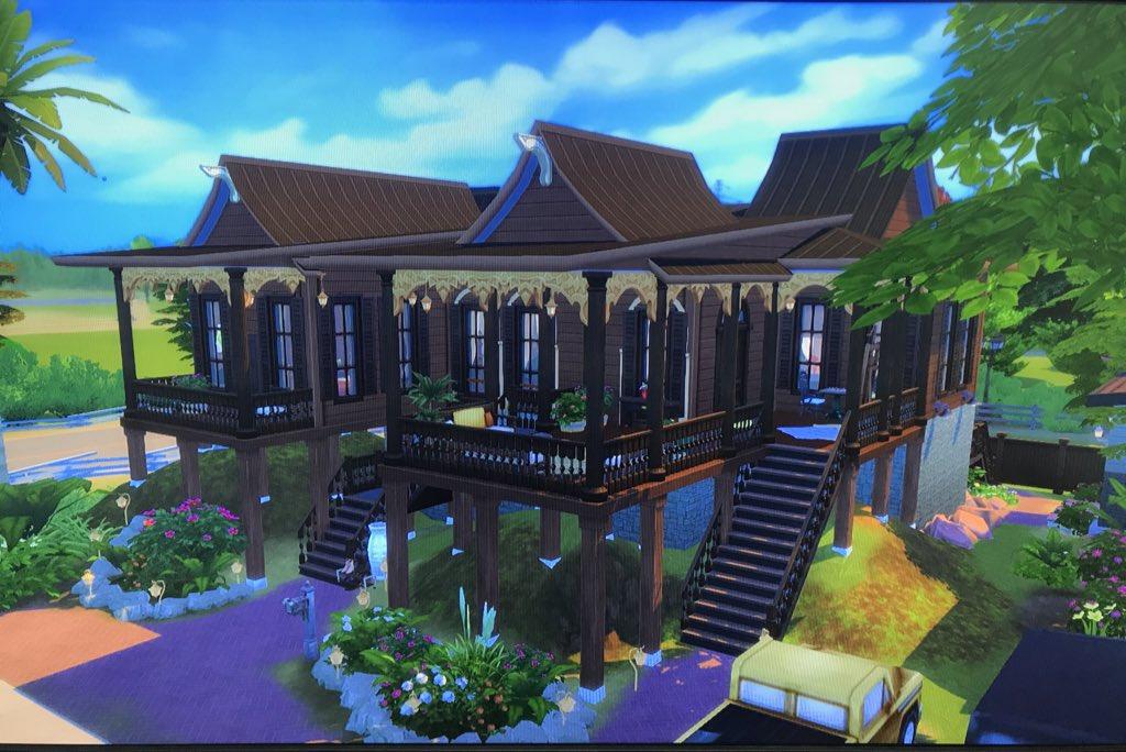 Malaysian Gamers Recreate Beautiful Kampung Houses Via 'The Sims 4'