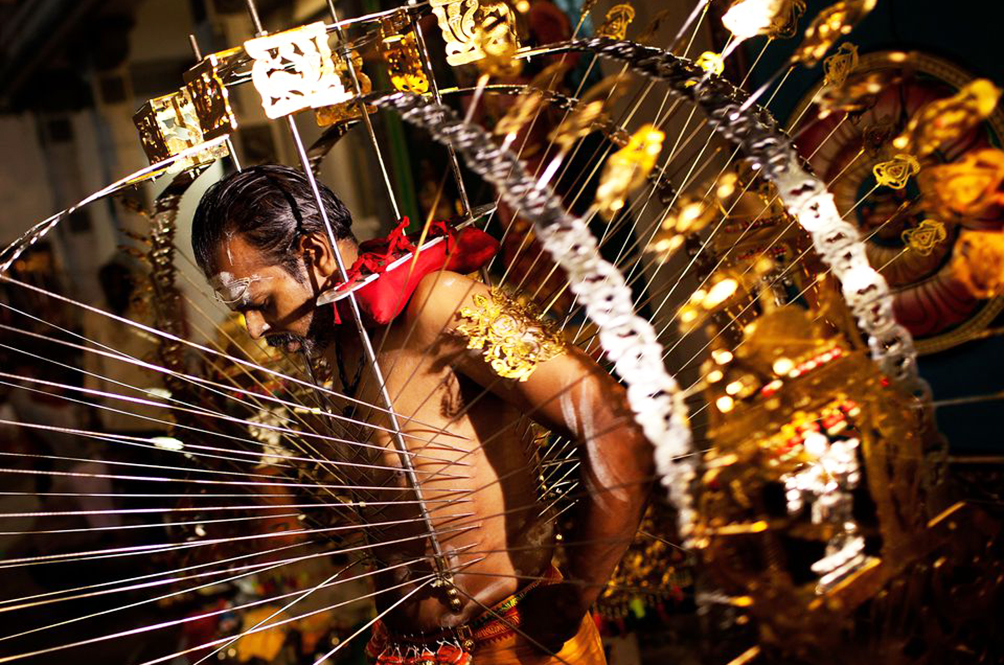 'I Feel No Pain': The Significance Of Bearing The Kavadi During Thaipusam