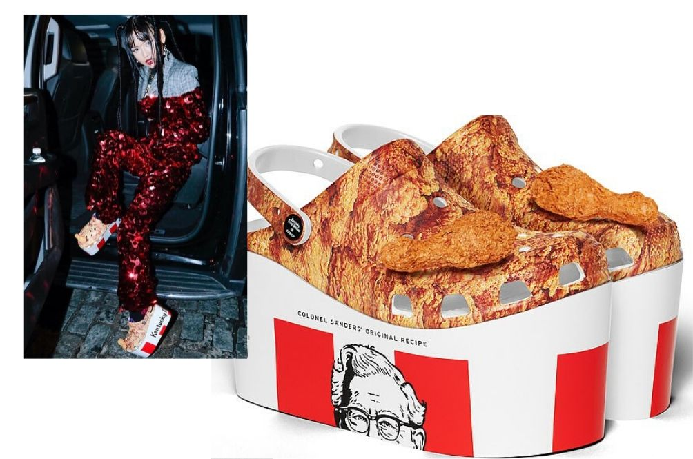 You Can Soon Get A Pair Of Crocs That Looks And Smells Like KFC Fried Chicken!