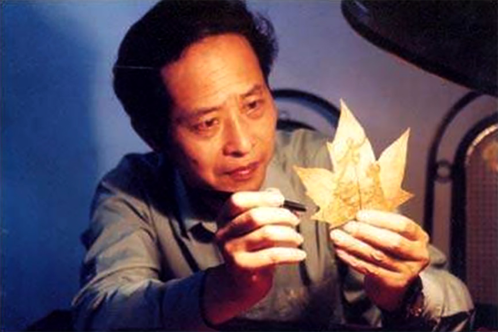 The father of leaf carving