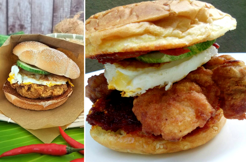 Forget McDonald's; We Teach You How To Make The Nasi Lemak Burger At Home