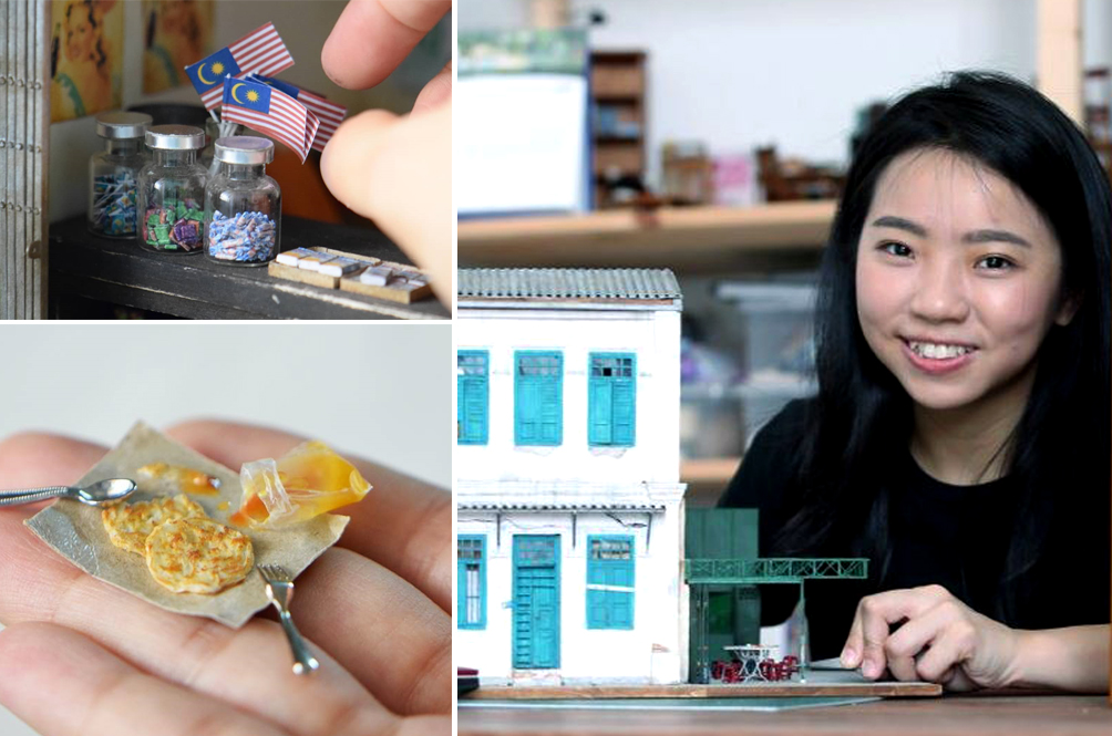 Outstanding Malaysians: No Art Is Too Small For This Young Malaysian Woman