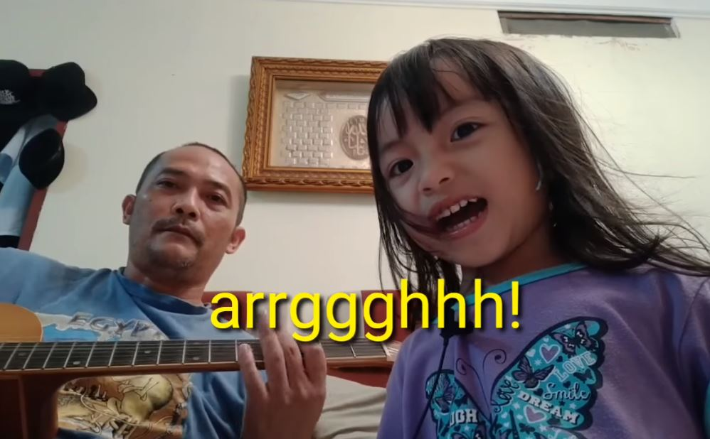 [VIDEO] M'sian Toddler Sings Rage Against The Machine's 'Killing In The Name Of' And It's Adorable