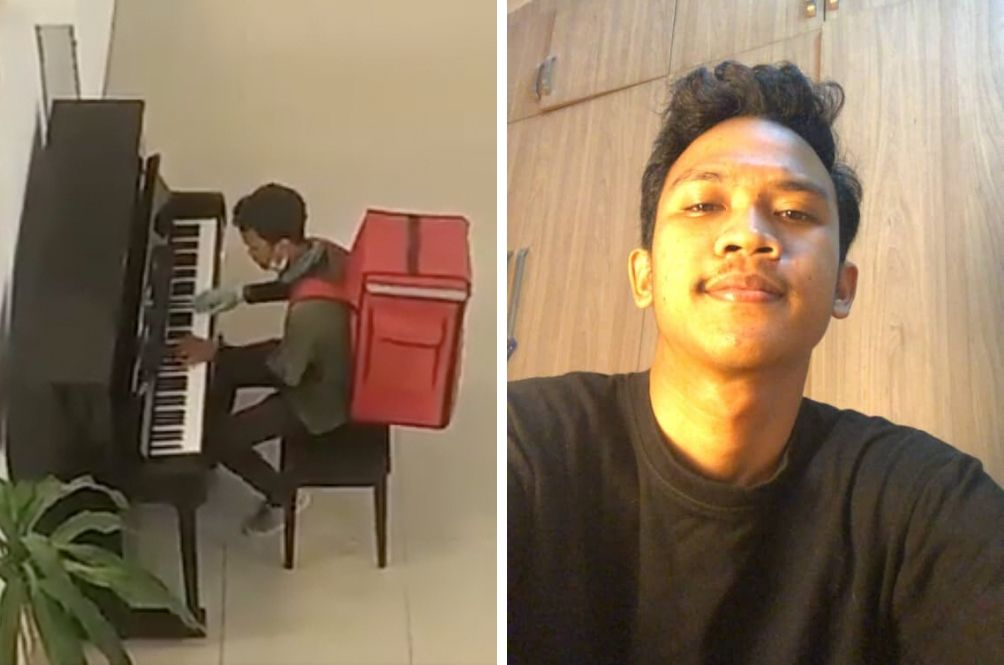 The Food Delivery Guy Who Never Liked Instruments But Is Now Famous For His Piano Playing Skills