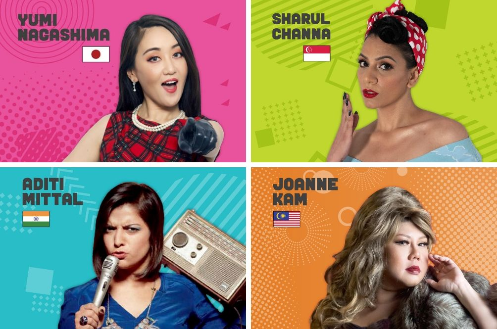 Laugh Your Socks Off With Asia's Top Comedy Queens In Special One Night Only Malaysia Show