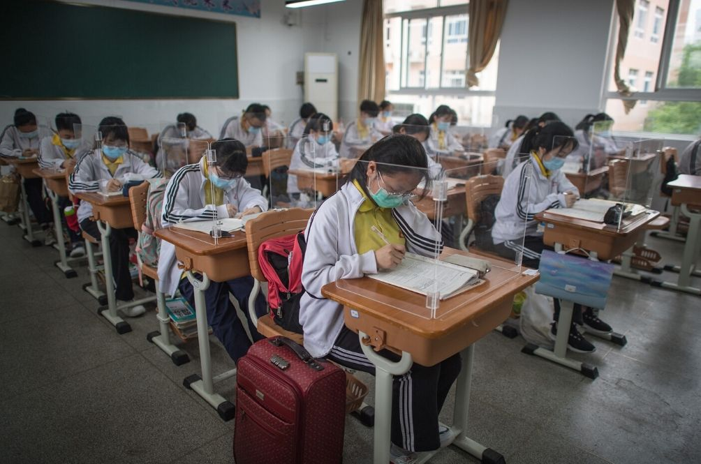 Schools In Wuhan Reopen As COVID-19 Cases Dwindle