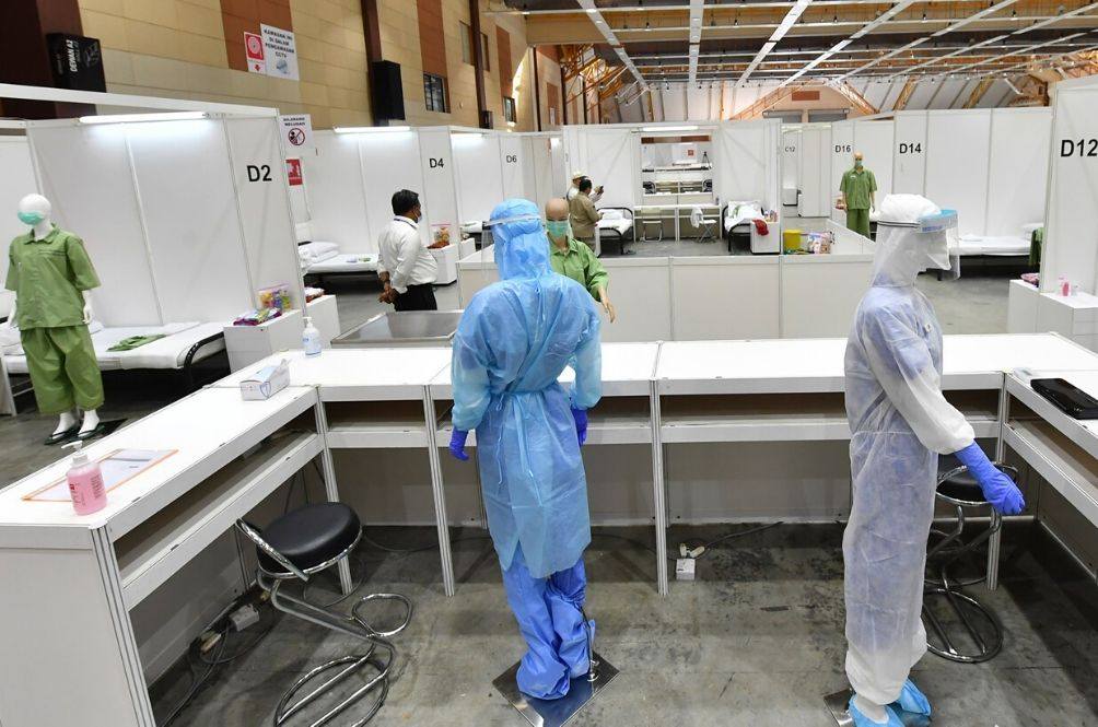 The Government Has Set Up A 600 Bed COVID-19 Treatment And Quarantine Centre In Serdang