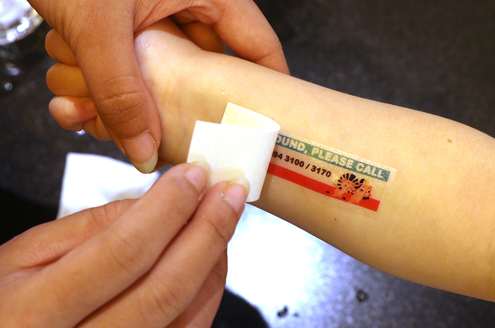 This Local Shopping Mall Wants To Tattoo Your Kids...But For A Good Reason!