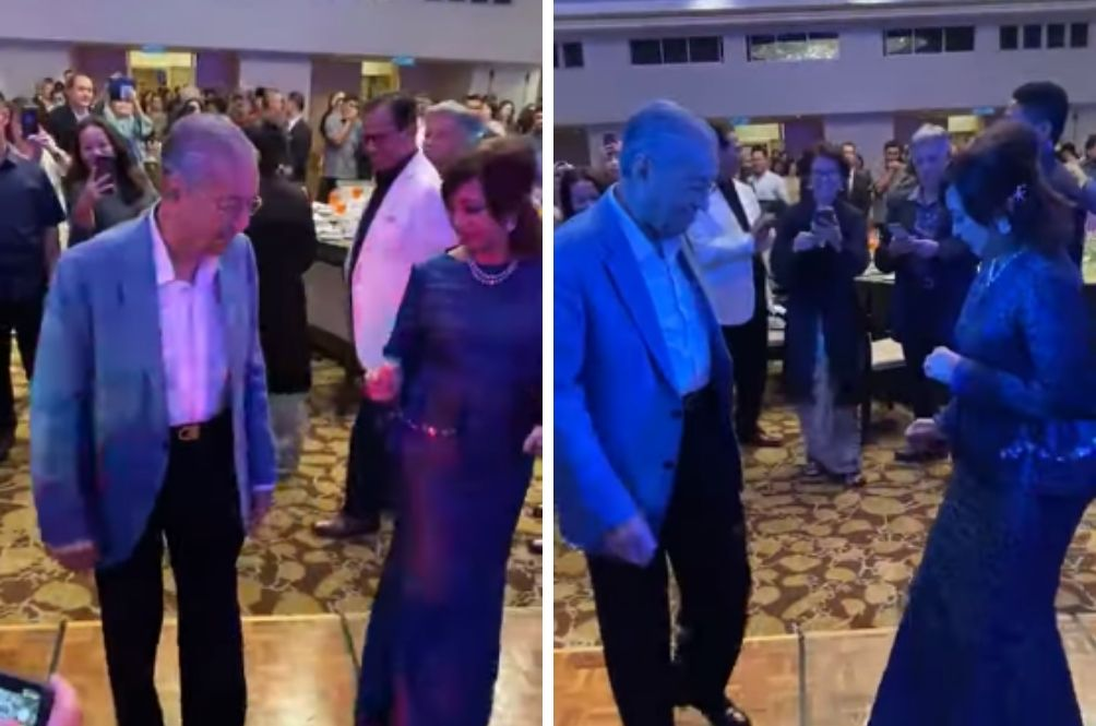 He May Be The Oldest PM In The World But He Can Still Joget To The Beat!