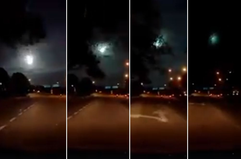 Video Of Mysterious Ball Of Fire In Johor Puzzles Netizens