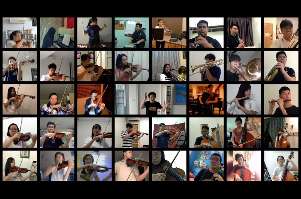 [VIDEO] MYPO Musicians Send 'The Force' To Our Frontliners In Rousing Star Wars Performance